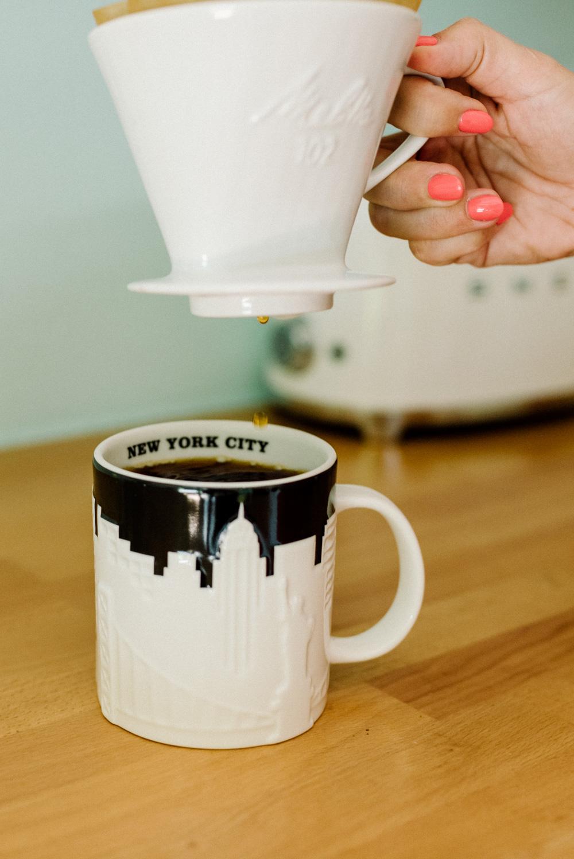 Filterkaffee Kaffeetasse New York City