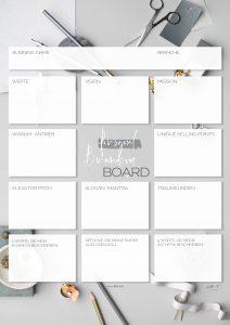 Personal Branding Board Du bist deine Marke Kitty Fried