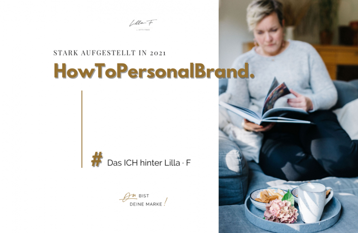 Blogserie How To Personal Brand About me Kitty Fried Lilla · F