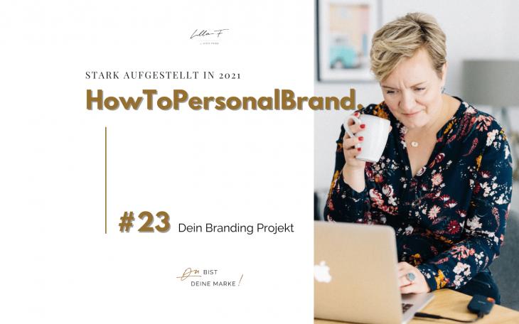 Blog HowToPersonalBrand Branding Projekt