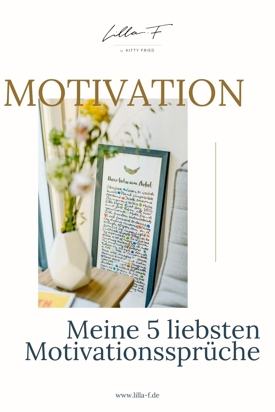 Motivation - Meine 5 liebsten Motivationssprüche