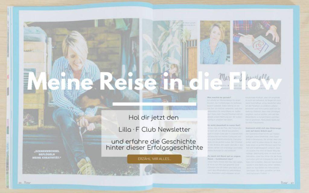 Meine Reise ins Flow Magazin Club Newsletter